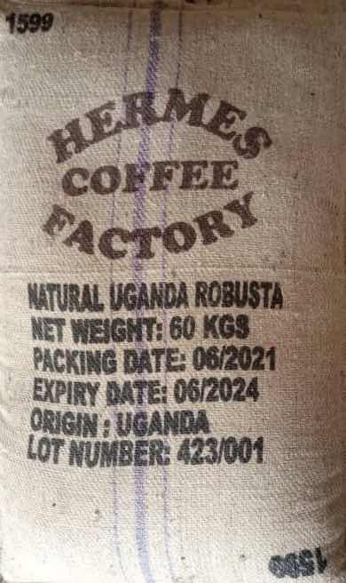 Uganda Robusta Medium Grade